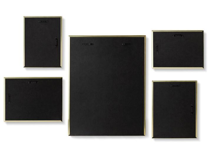 Ramki na zdjęcia Matinee (5-set) złote Kolor Złoty Rozmiar zdjęcia 10x15 cm