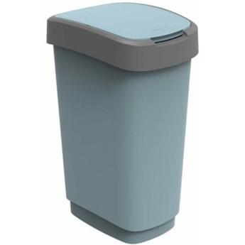 Kosz na śmieci ROTHO Eco Twist 17545 50 L Błękitny