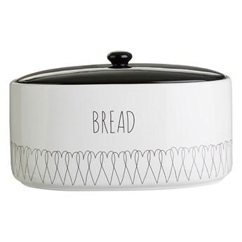Pojemnik na chleb z dolomitu Premier Housewares Heartlines, 32x22 cm