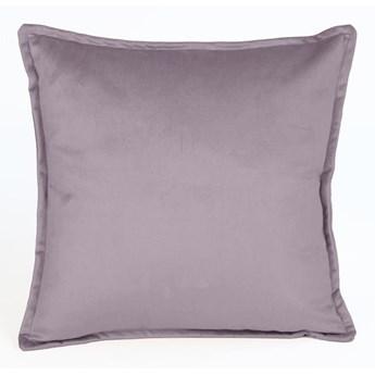 Fioletowa aksamitna poduszka Velvet Atelier Purple, 45x45 cm