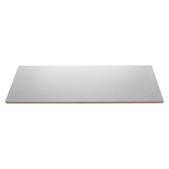 Szary blat do przedłużenia stołu Unique Furniture Bilbao, 45x90 cm