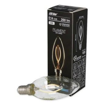 Żarówka LED line® FILAMENT E14 C35 180-265V 2W 260lm 4000K biała dzienna