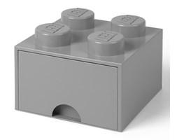 Szuflada Klocek Lego® Brick 4 (Ciemnoszary) - LEGO®
