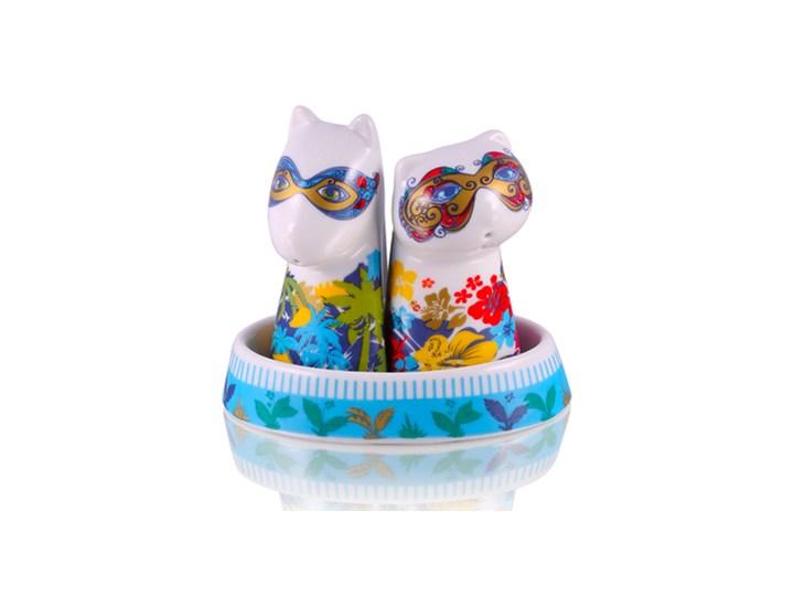 Zestaw solniczka i pieprzniczka - Glamour Maski