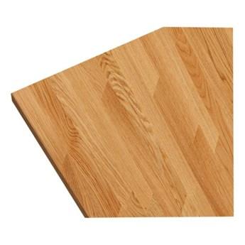 Blat drewniany 3,8 x 245 cm dębowy fornir olejowany