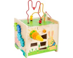 Zabawka motoryczna Sorter  królik small foot design - zabawka drewniana, zabawka  dla 2 latka