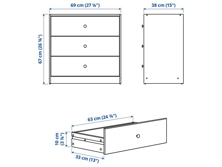IKEA GURSKEN Zestaw mebli do sypialni 3 szt, jasnobeżowy Pomieszczenie Sypialnia Kategoria Zestawy mebli do sypialni