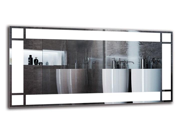 Lustro Łazienkowe - Model M1ZP-60 Lustro podświetlane Kategoria Lustra Prostokątne Ścienne Kolor Srebrny