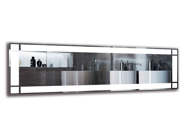 Lustro Łazienkowe - Model M1ZP-60 Kategoria Lustra Ścienne Prostokątne Lustro podświetlane Pomieszczenie Łazienka