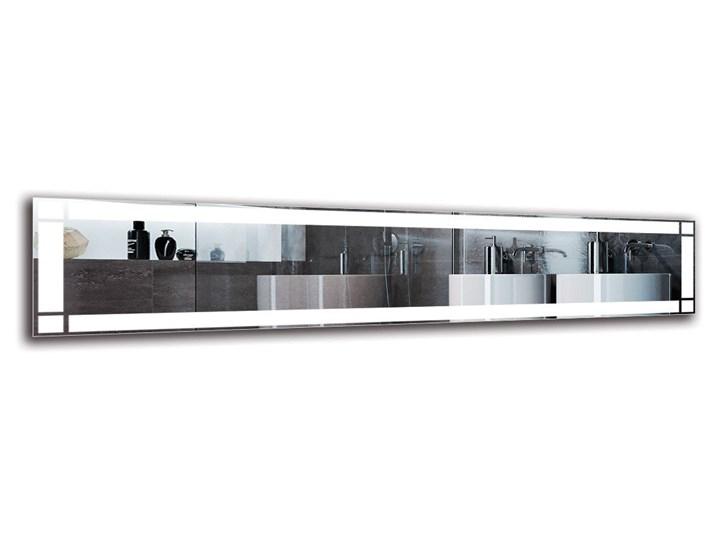 Lustro Łazienkowe - Model M1ZP-60 Ścienne Lustro podświetlane Prostokątne Kategoria Lustra
