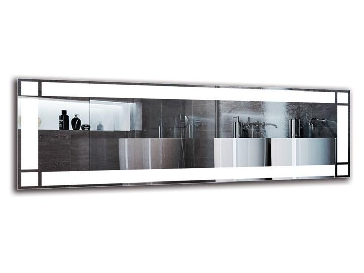 Lustro Łazienkowe - Model M1ZP-60 Pomieszczenie Łazienka Ścienne Lustro podświetlane Prostokątne Kategoria Lustra