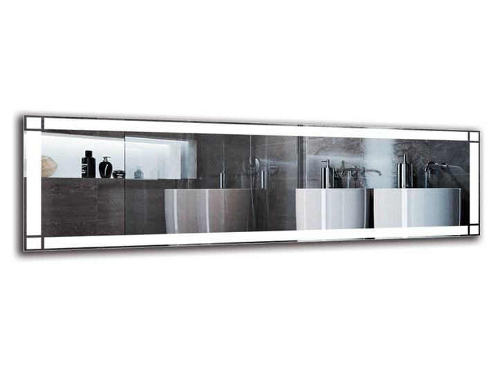 Lustro Łazienkowe - Model M1ZP-60 Ścienne Kategoria Lustra Lustro podświetlane Prostokątne Pomieszczenie Łazienka