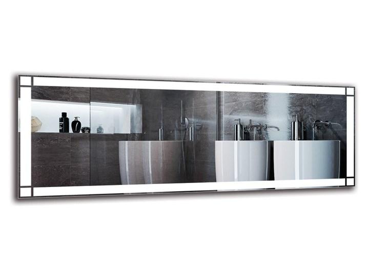 Lustro Łazienkowe - Model M1ZP-60 Prostokątne Ścienne Pomieszczenie Łazienka Lustro podświetlane Kategoria Lustra