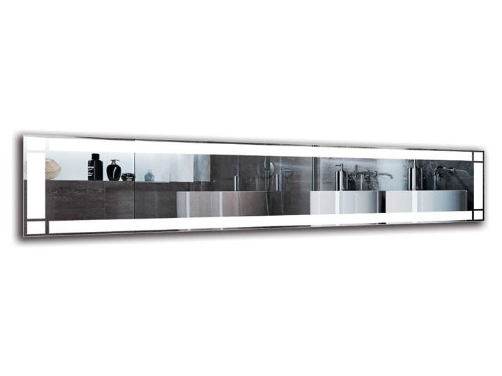Lustro Łazienkowe - Model M1ZP-60 Lustro podświetlane Ścienne Prostokątne Pomieszczenie Łazienka