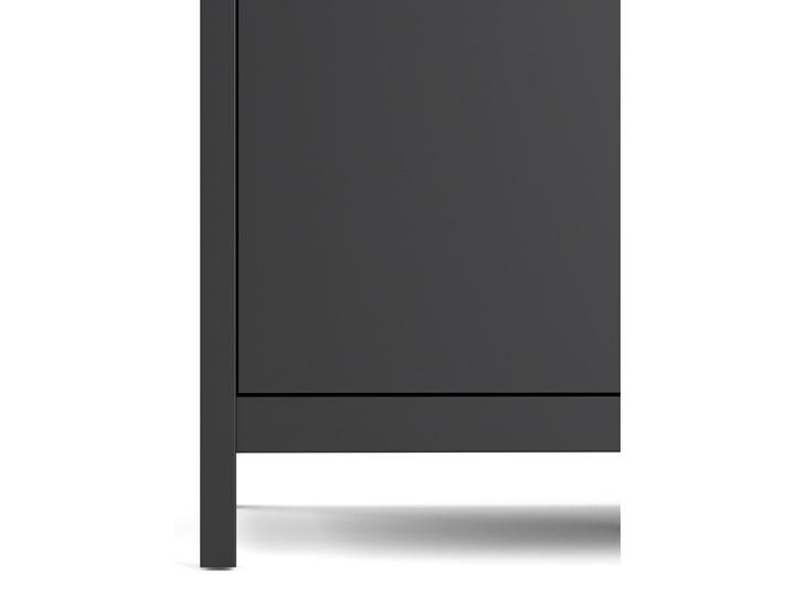 Trzydrzwiowa szafa ubraniowa w kolorze czarnym Madrid 3D Wysokość 199 cm Szerokość 150 cm Ilość drzwi Trzydrzwiowe Głębokość 58 cm Kategoria Szafy do garderoby