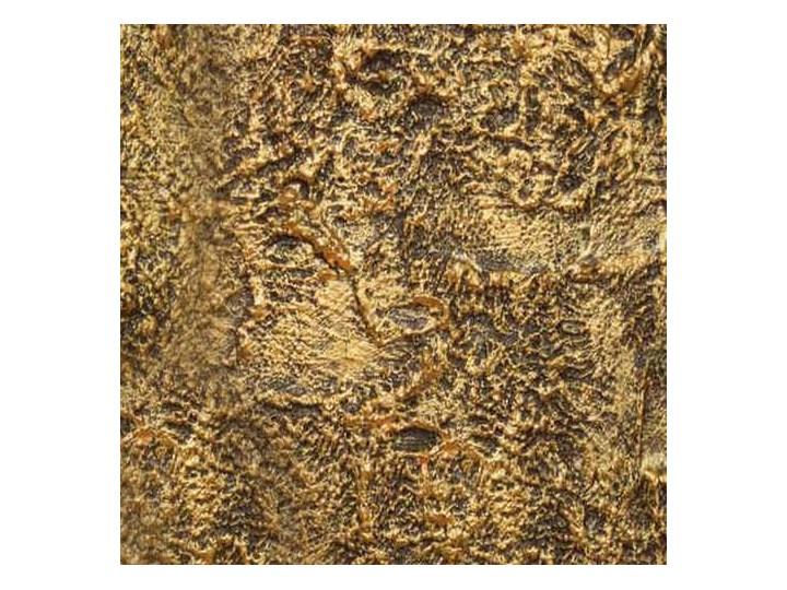 Goldenna - artystyczna ekskluzywna wanna ze strukturą Akryl Wolnostojące Kolor Złoty Długość 170 cm Owalna Kategoria Wanny