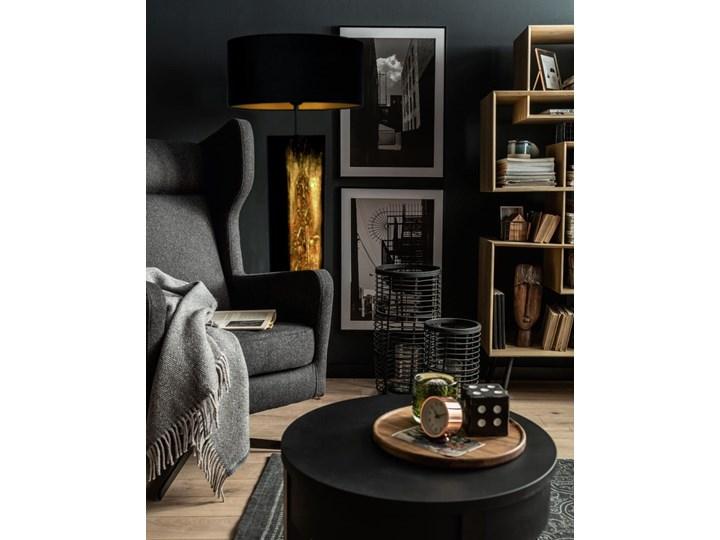 Złote zdobienia - ekskluzywna ręcznie rzeźbiona lampa podłogowa Tkanina Lampa inspirowana Lampa z abażurem Lampa dekoracyjna Tworzywo sztuczne Metal Kategoria Lampy podłogowe