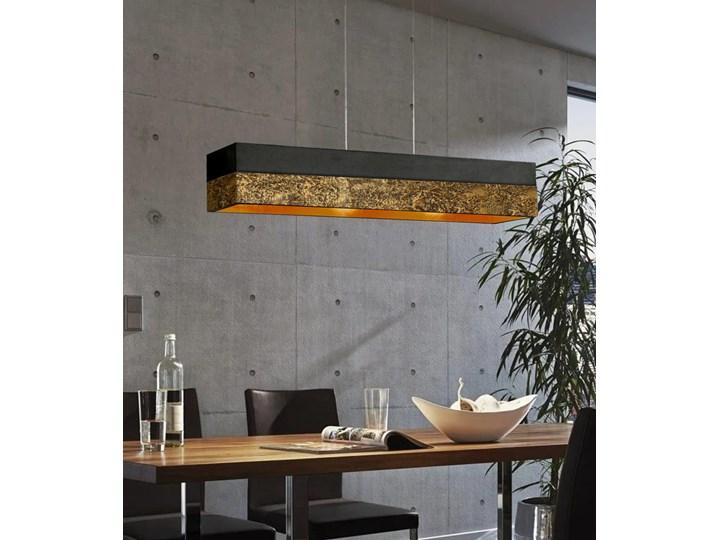 LA TEXTURA - ARTYSTYCZNA EKSKLUZYWNA LAMPA SUFITOWA DUŻA DO LOFTU Kolor Czarny Tworzywo sztuczne Metal Kategoria Lampy wiszące