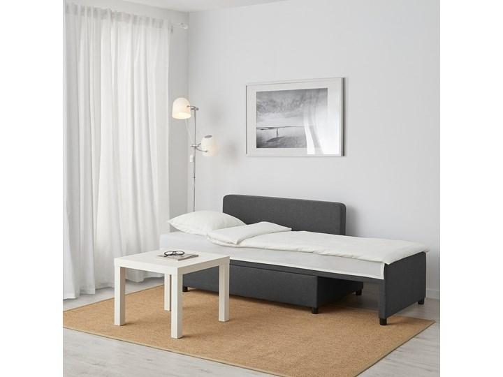BYGGET Leżanka/sofa rozkładana Szerokość 149 cm Głębokość 91 cm Stała konstrukcja Kolor Szary