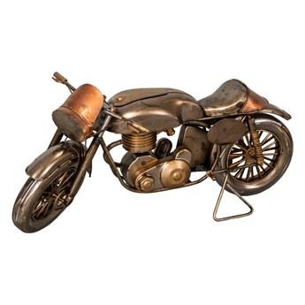 Dekoracja z żelaza w kształcie motoru Antic Line Moto, 29x11 cm