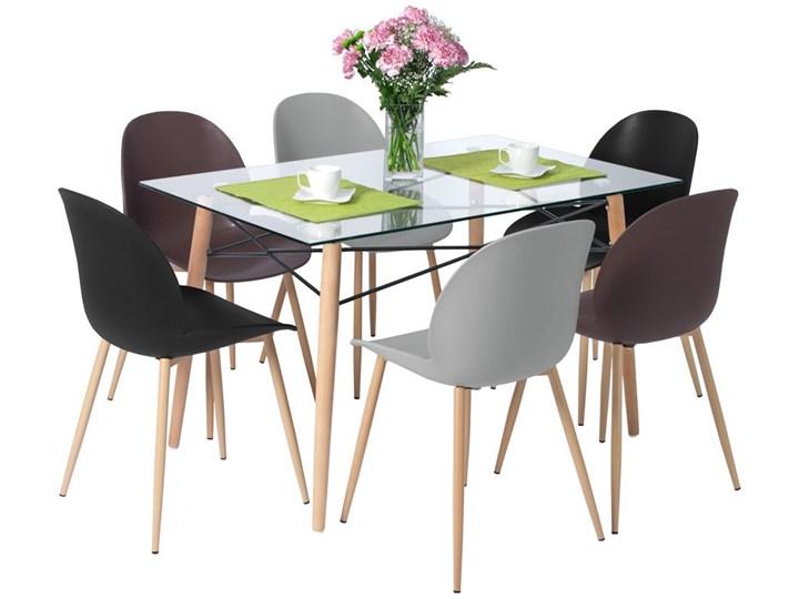 Zestaw mebli do jadalni stół 120 cm LUNA i 6 krzeseł GALA Kategoria Stoły z krzesłami Pomieszczenie Jadalnia