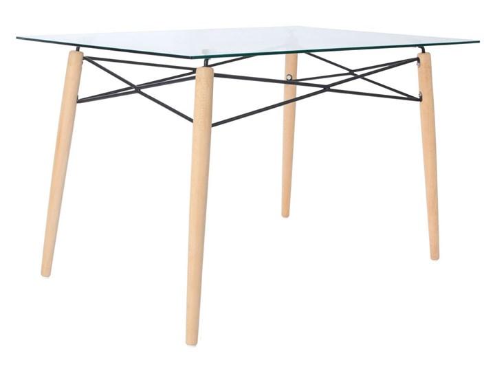 Komplet mebli do jadalni stół 120 cm LUNA i 6 krzeseł SARA z poduszką Kategoria Stoły z krzesłami