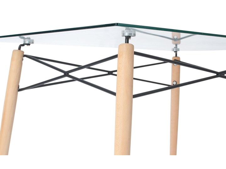 Komplet mebli do jadalni stół 120 cm LUNA i 6 krzeseł SARA z poduszką Pomieszczenie Jadalnia