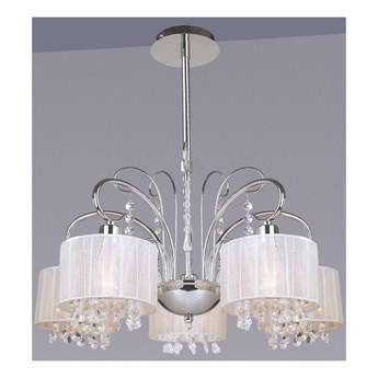 Lampa wisząca Span MDM1583/5 WH ITALUX MDM1583/5 WH | SPRAWDŹ RABAT W KOSZYKU !
