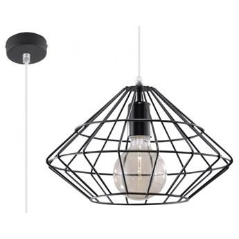 Lampa wisząca UMBERTO czarna SL.0294 SOLLUX SL.0294 | SPRAWDŹ RABAT W KOSZYKU !