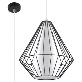 Lampa wisząca DEMI czarna SL.0298 SOLLUX SL.0298