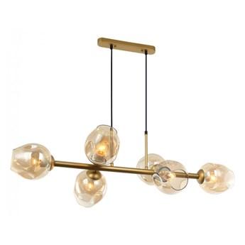 Lampa wisząca Borgo PND-30843-6 GD+AMB ITALUX PND-30843-6 GD+AMB | SPRAWDŹ RABAT W KOSZYKU !