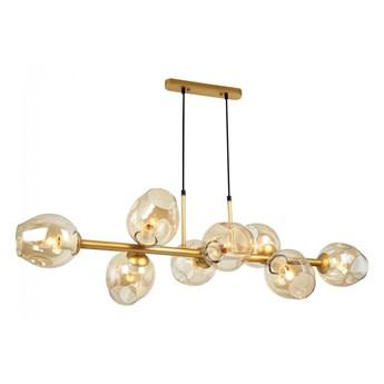 Lampa wisząca Borgo PND-30843-8 GD+AMB ITALUX PND-30843-8 GD+AMB