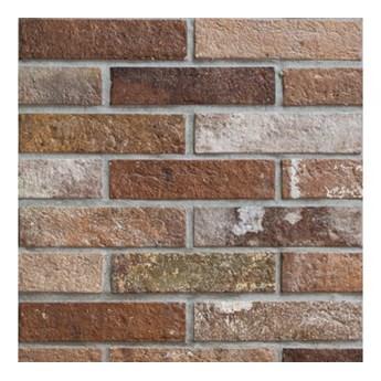 Rondine Bristol Red Brick 6x25 Płytka ścienna matowa