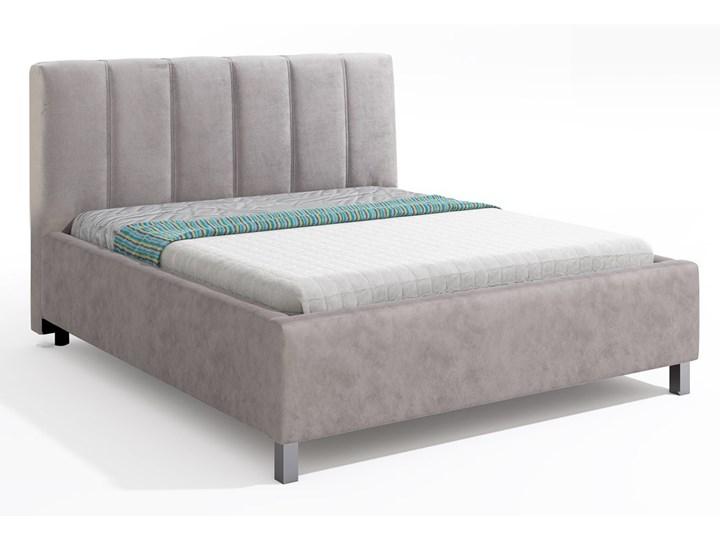 Łóżko Polo tapicerowane z pojemnikiem Łóżko tapicerowane Kategoria Łóżka do sypialni Rozmiar materaca 180x220 cm