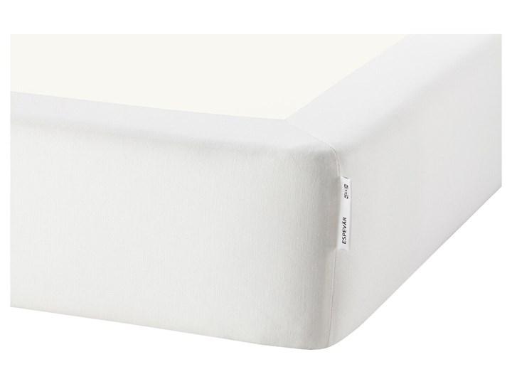 IKEA ESPEVÄR/VÅGSTRANDA Łóżko kontynentalne, biały/średnio twardy jasnoniebieski, 90x200 cm Łóżko pikowane Kategoria Łóżka do sypialni