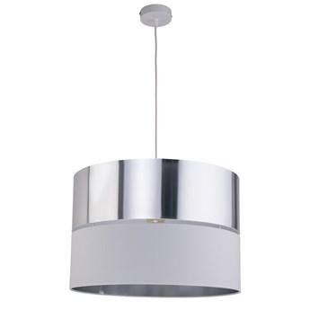 Hilton lampa wisząca 1-punktowa biała/srebrna 4178