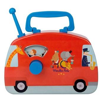 Autobus grający dla dzieci Moulin Roty