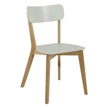 Drewniane krzesło w stylu skandynawskim Grenada