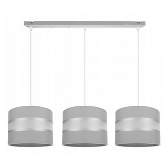 Nowoczesna Lampa Wisząca z Abażurami na Listwie LED