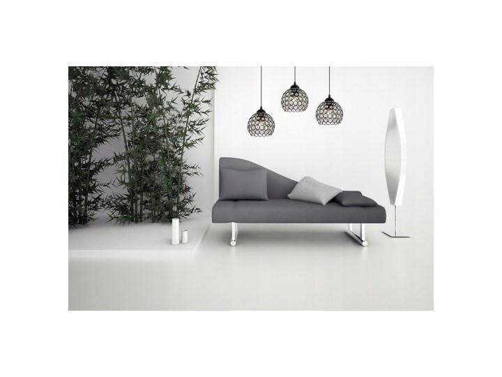 Nowoczesna Lampa Wisząca Szklana w Stylu Art-Deco Lampa LED Metal Lampa z kloszem Kategoria Lampy wiszące Szkło Styl Nowoczesny
