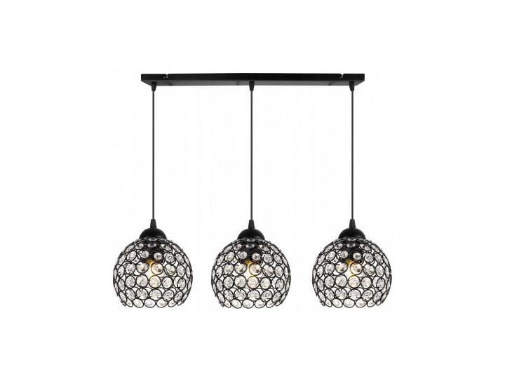 Nowoczesna Lampa Wisząca Szklana w Stylu Art-Deco