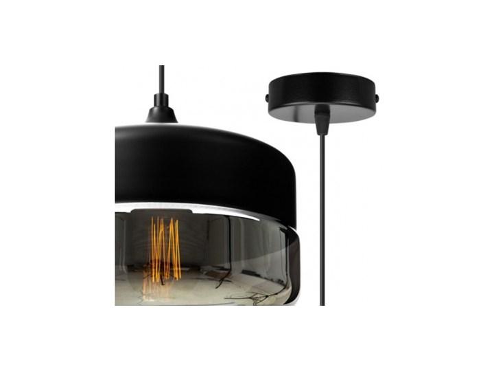 Nowoczesna Lampa Wisząca ze Szklanym Kloszem w Stylu Loft Szkło Lampa LED Kategoria Lampy wiszące Metal Lampa z kloszem Styl Nowoczesny