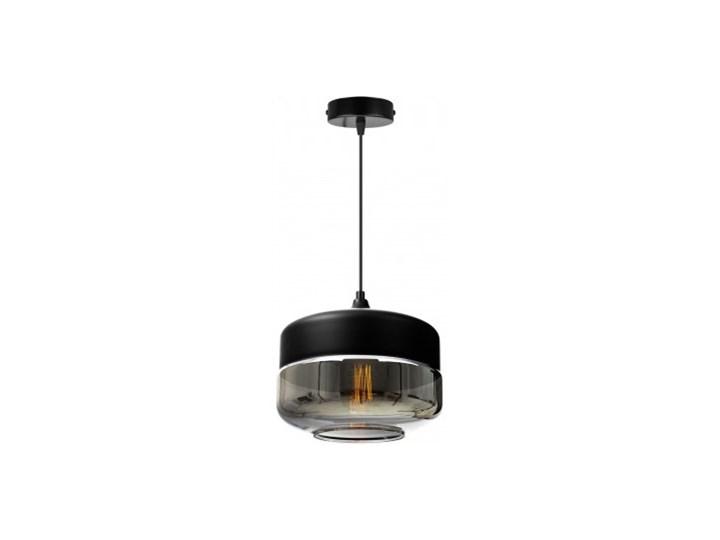 Nowoczesna Lampa Wisząca ze Szklanym Kloszem w Stylu Loft Szkło Metal Lampa LED Lampa z kloszem Styl Industrialny