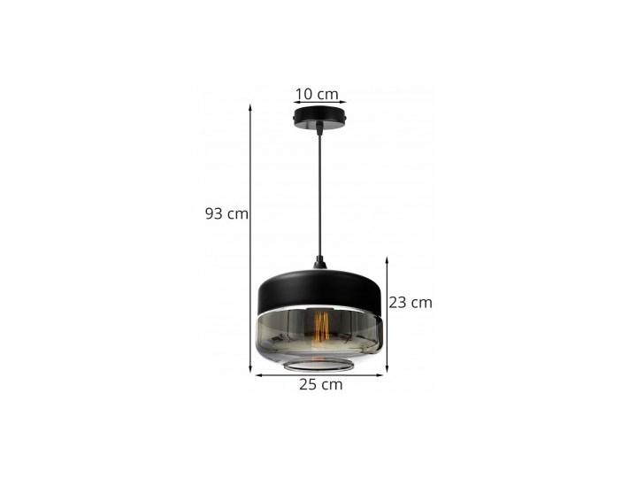 Nowoczesna Lampa Wisząca ze Szklanym Kloszem w Stylu Loft Lampa LED Lampa z kloszem Szkło Metal Ilość źródeł światła 1 źródło