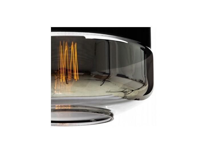 Nowoczesna Lampa Wisząca ze Szklanym Kloszem w Stylu Loft Lampa z kloszem Metal Szkło Lampa LED Styl Nowoczesny