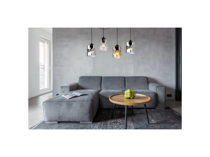 Lampa Wisząca Regulowana z Wyjątkowymi Kloszami ze Szkła Lampa z kloszem Metal Szkło Lampa LED Ilość źródeł światła 4 źródła