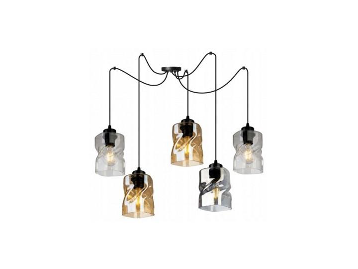 Loftowa Lampa Wisząca typu Pająk ze Szklanymi Kloszami Lampa pająk Lampa LED Szkło Metal Lampa z kloszem Kategoria Lampy wiszące