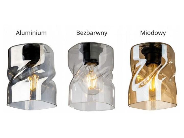 Loftowa Lampa Wisząca typu Pająk ze Szklanymi Kloszami Metal Lampa LED Lampa z kloszem Lampa pająk Szkło Kategoria Lampy wiszące
