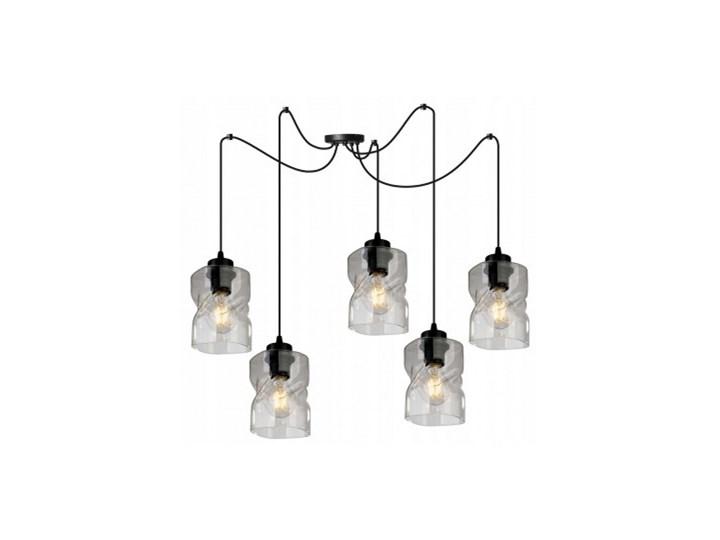 Loftowa Lampa Wisząca typu Pająk ze Szklanymi Kloszami Lampa z kloszem Metal Styl Nowoczesny Lampa pająk Szkło Lampa LED Kategoria Lampy wiszące