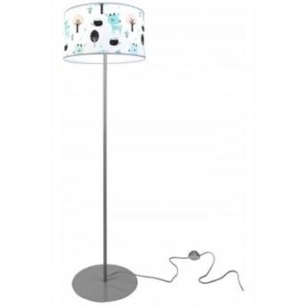 Nowoczesna Stojąca Lampa z Abażurem do Pokoju Dziecka